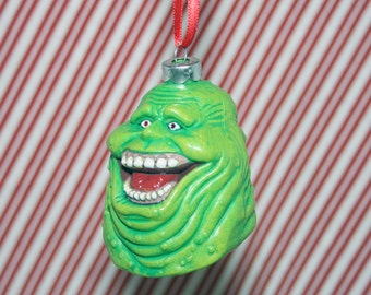 Ghostbusters Slimer Ghost Christmas Ornament