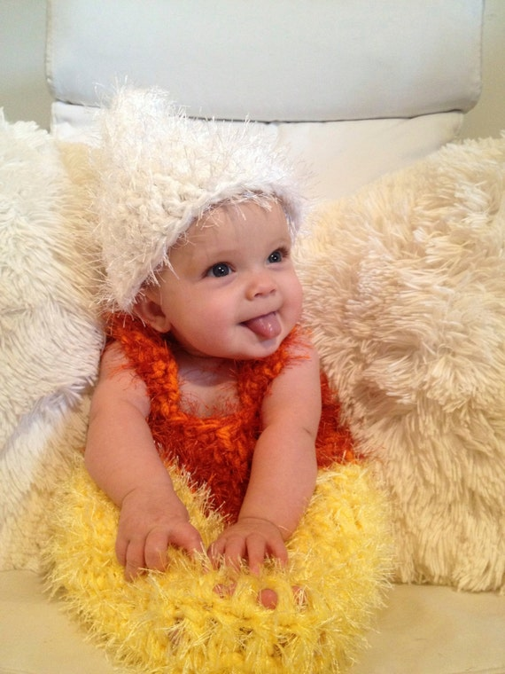 0-3 month Candy Corn costume