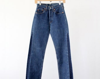 vintage Levi's 501 denim jeans, waist 26
