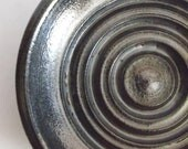 Pewter soap dish