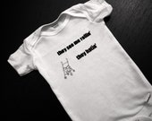 """Funny Baby Onesies - """"They See Me Rollin', They Hatin'"""""""