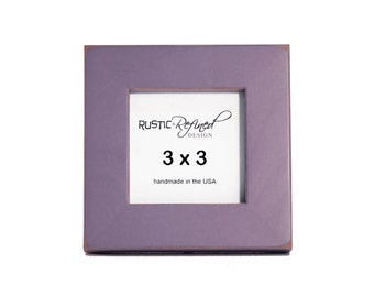 "3x3 Gallery 1"" picture frame - Purple"