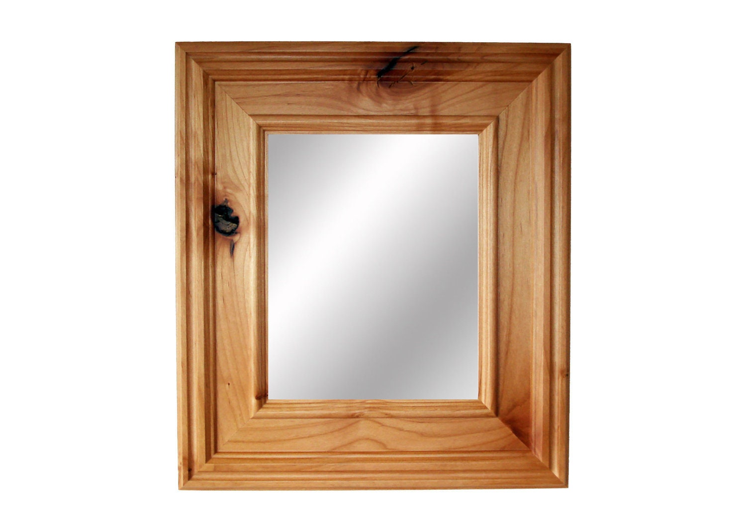 Wood Photo Frames : 10 Mirror in solid wood Tahoe frame Natural by RusticRefined