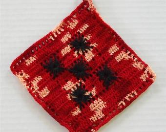 1940's Crocheted Decorative Pot Holder