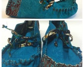 23 TRIBES - Samina- custom made  leather moccasins