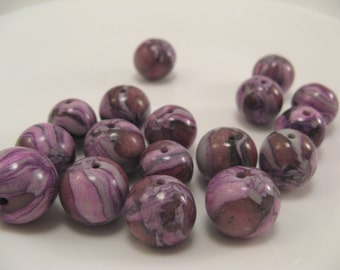 Beautiful Beads with No Name OOAK Faux Lampwork Beads