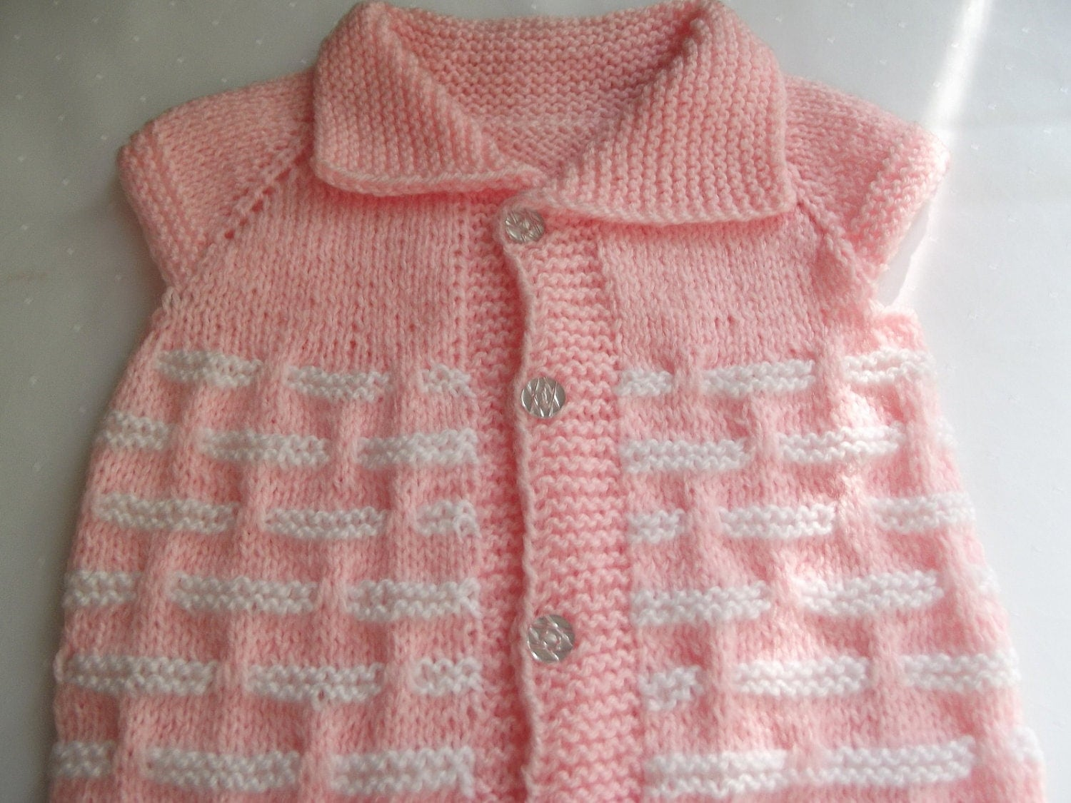 Knitting Pattern Baby Undershirt : Handmade Knitting Pattern...Knitting Baby Vest... by Vestberet
