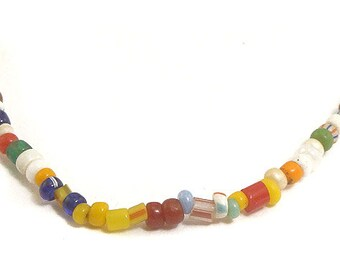 """Christmas Trade Beads 3 Strands """"Love Beads"""" Africa 55614"""