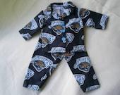 Jacksonville Jaguars pajamas for american girl/boy doll
