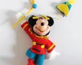 Vintage Mickey Mouse Christmas decoration