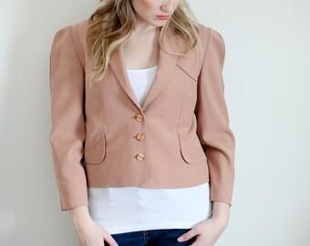 Vintage Blush Blazer