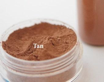 Tan Powder Foundation - Mineral Makeup - All Natural Powder Foundation