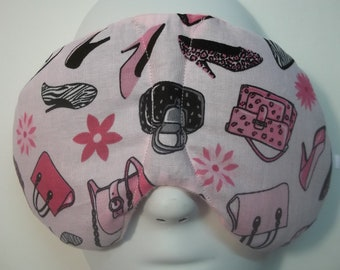 Herbal Hot/Cold Therapy Sleep Mask with adjustable and removeable strap Purses, Handbags and High Heel Shoes