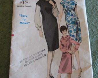 Vintage Vogue 5995 sheath pattern