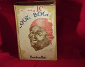 "Antique Cookbook ""Mammy Lou's Cookbook"" negro mammies"