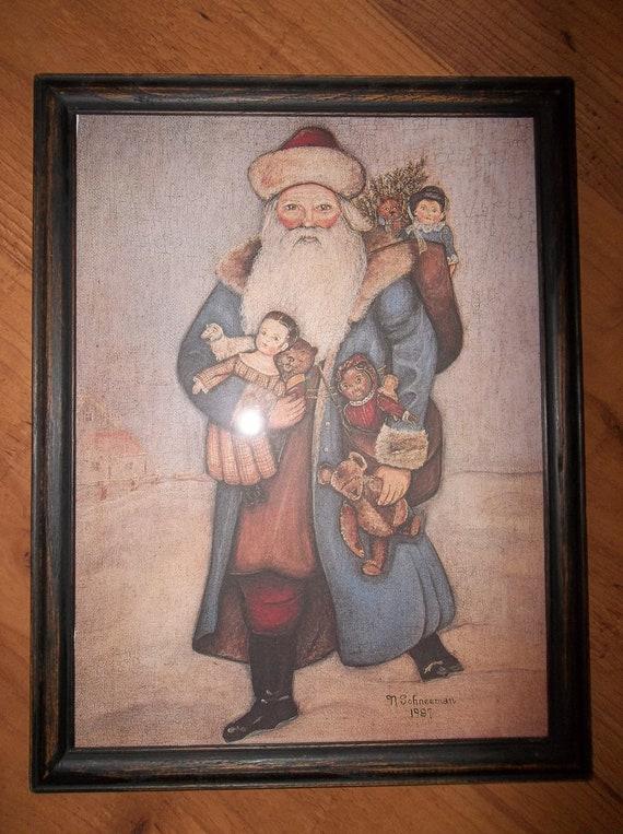 Framed Print By Folk Artist N Schneeman By