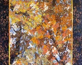 Art Quilt  Autumn Glory  Wall Hanging  Confetti Quilt