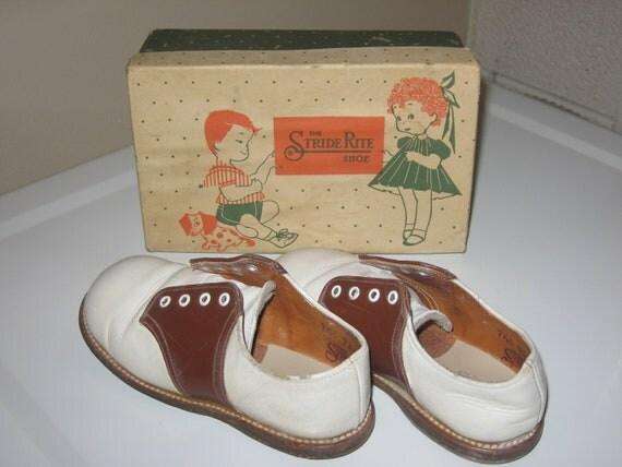 Kids Stride Rite Saddle Shoes in the Original Box