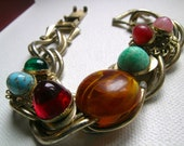 Reserved Linda Juliana multicolor stone bracelet         VJSE