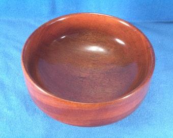 Bowl, bloodwood
