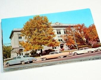 25 Vintage Indiana Chrome Postcards Blank - Wedding Guestbook