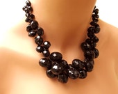 Big Bold Chunky Fashion Necklaces Black Necklace Chunky
