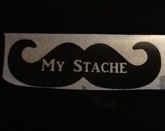 My Stache Sticker