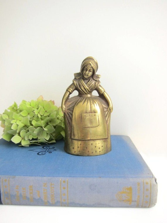 Brass Lady Bell with Leg Clappers