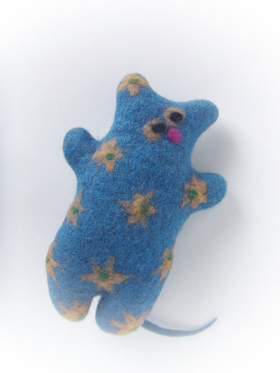 Felted Wool Cat Toys