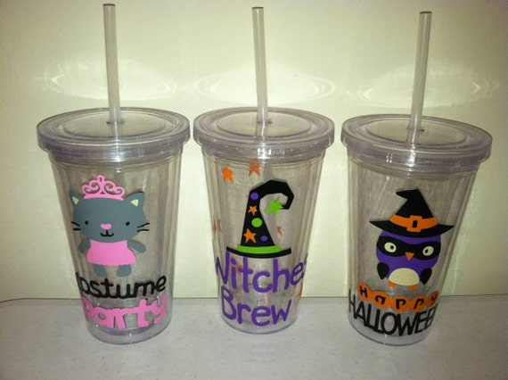 Custom Listing for Eliza Turner- Personalized Halloween Tumbler, Witches Brew, Happy Halloween, Costume Party, Personalized Tumbler