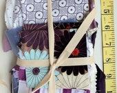 PURPLE fabric bundle de-stash cloth clearance variety