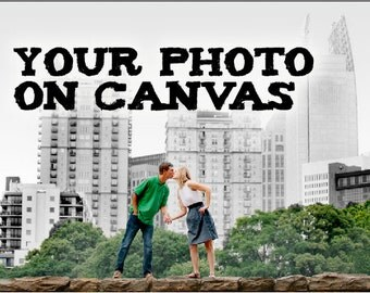 "48"" x 24"" Panoramic Custom Canvas - Your Photo on Canvas"