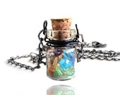 Swarovski Crystal Magic Bottle Gunmetal Necklace (Get 12% OFF with COUPON CODE for Special Sale)
