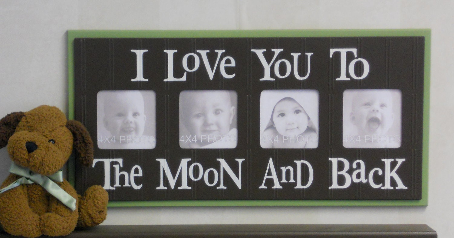 love you to the moon and back brown zoom