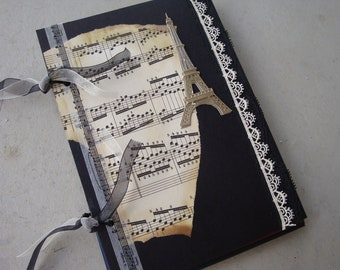 Travel Smashbook. Travel Journal. England, Paris, France, Italy, Mexico, Caribbean, Custom Smashbook