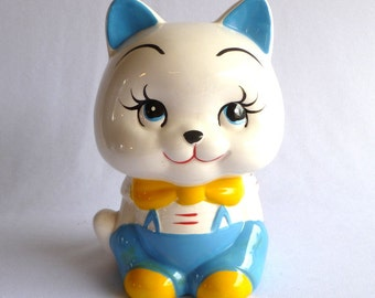 RETRO KITTY BANK