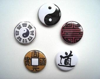 Taoist Button Set