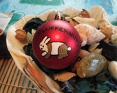 Personalize pet ornament, made to order