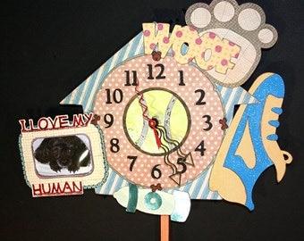 Dog Pendulum Wall Clock