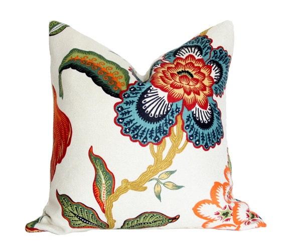 Spark Modern Pillows Etsy : Items similar to Hot House Spark Designer Pillow Cover 17x17 (single-sided) on Etsy