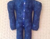 Reiki Distance Healing Doll - Deep Blue