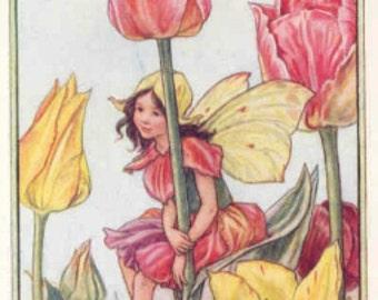 Tulip Fairy - Cross stitch pattern pdf format