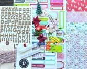 Kitschy Kristmas December Daily Scrapbooking Kit