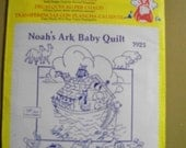 "Aunt Martha's Hot Iron Transfers ""Noah's Ark Baby Quilt"""