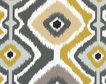 SALE Designer Pillow Cover -  Diamond Ikat  - Gray - 10 x 20, 12 x 16, 12 x 18, 12 x 20 - Outdoor