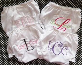 Personalized Bloomer/Diaper Cover Gift Set