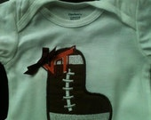 Virginia Tech Personalized football onesie Many teams available
