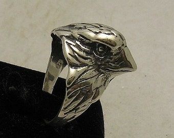 R000780 STERLING SILVER Ring Solid 925 Falcon