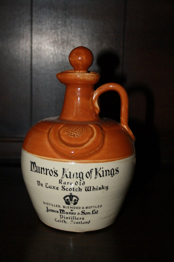 Munros King Of Kings Rare Old De Luxe Scotch By Moxieantiques