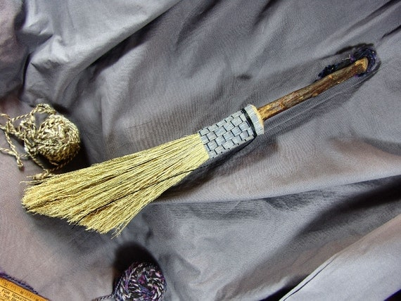 Apple Stem Handfasting Besom 19 inches